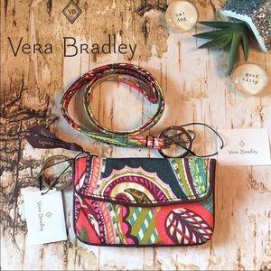 Vera Bradley Jen Zip ID & Lanyard